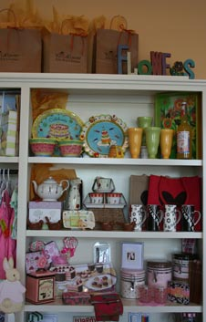 Boutique Shelves