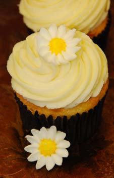 Yellow Flower Cupcakes
